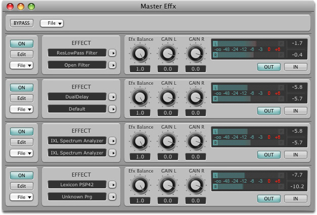 graphic eq after effects